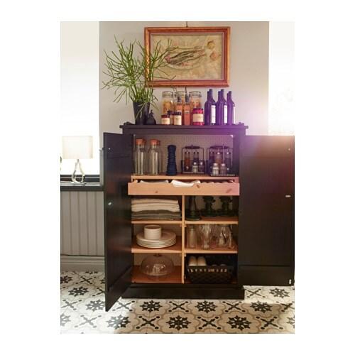 arkelstorp sideboard black 93x46x133 cm ikea. Black Bedroom Furniture Sets. Home Design Ideas