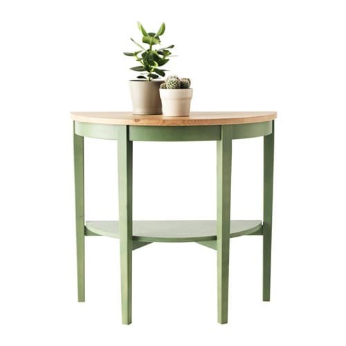 Arkelstorp window table white 80x40x75 cm ikea for Ikea green side table