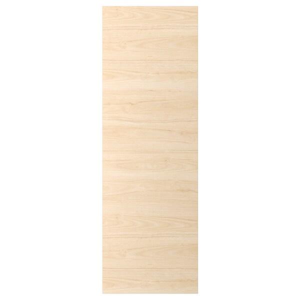 ASKERSUND Door, light ash effect, 60x180 cm