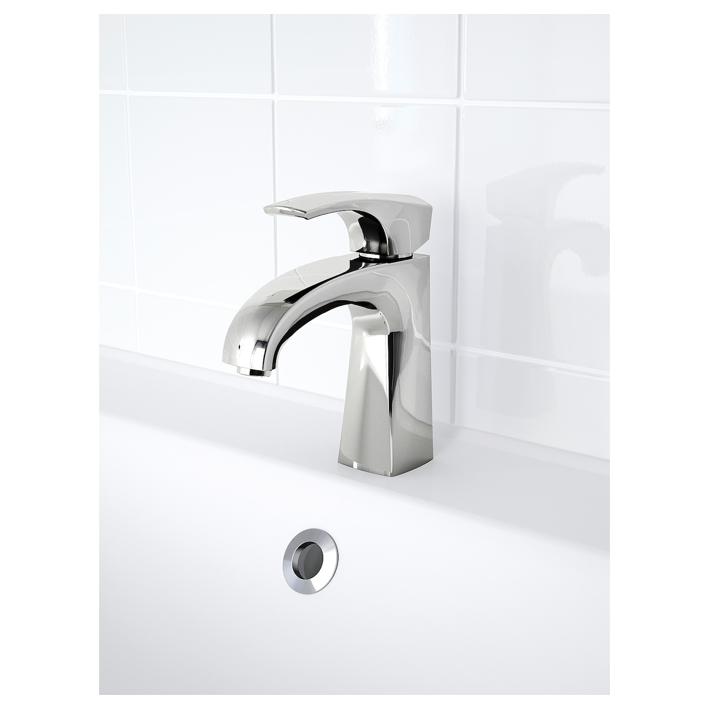IKEA ASPSKÄR wash-basin mixer tap with strainer
