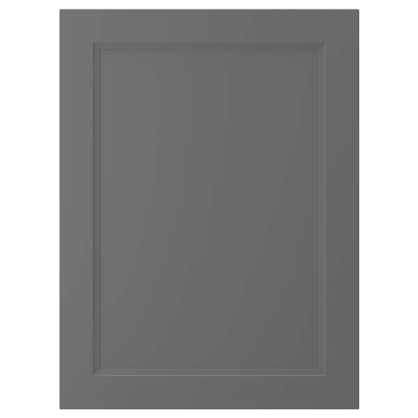 AXSTAD Door, dark grey, 60x80 cm