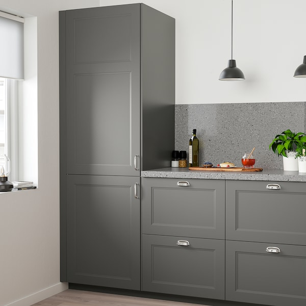 AXSTAD Door, dark grey, 60x120 cm
