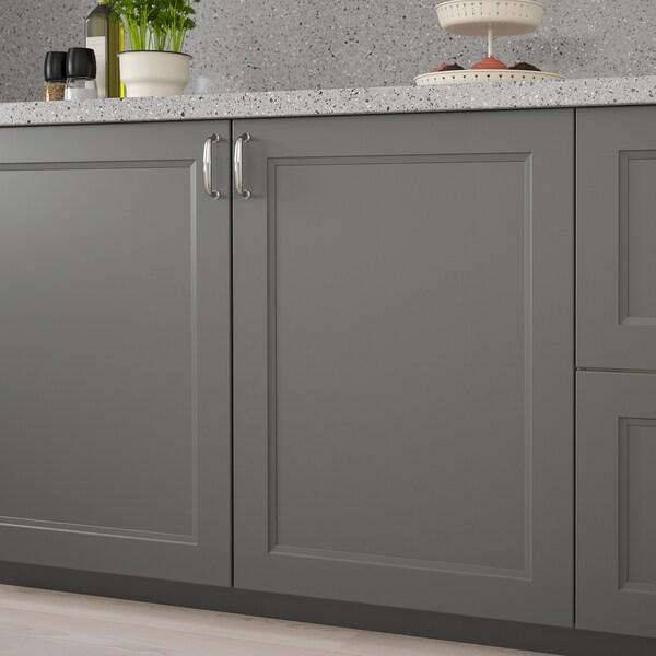 AXSTAD Door, dark grey, 60x100 cm