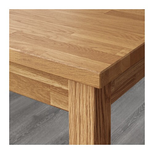Ikea Ekensberg Oak Kitchen Table