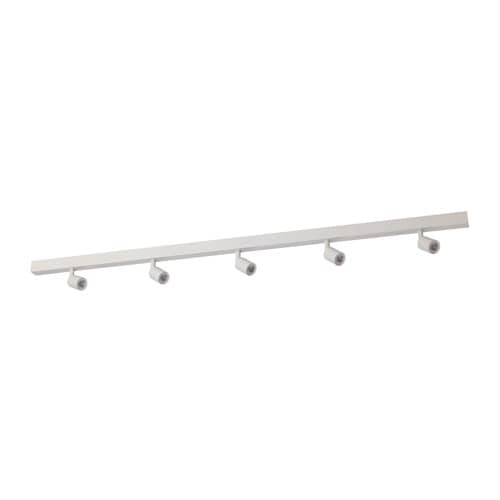 Ikea bäve led ceiling track 5 spots