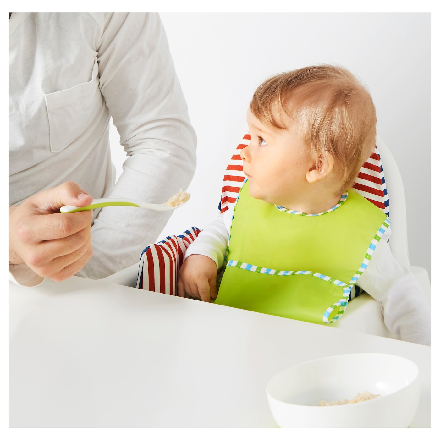 IKEA BÖRJA feeding spoon and baby spoon