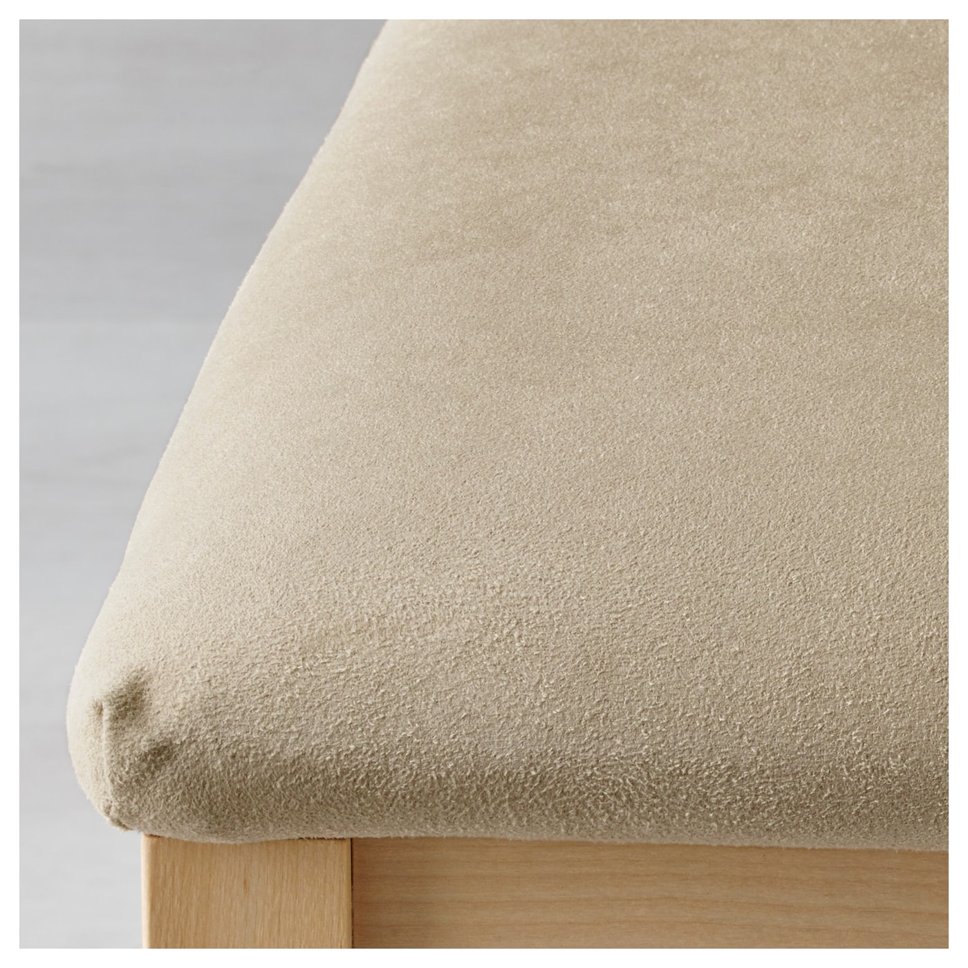 IKEA BÖRJE chair Padded seat for enhanced seating comfort. The cover can be machine washed.