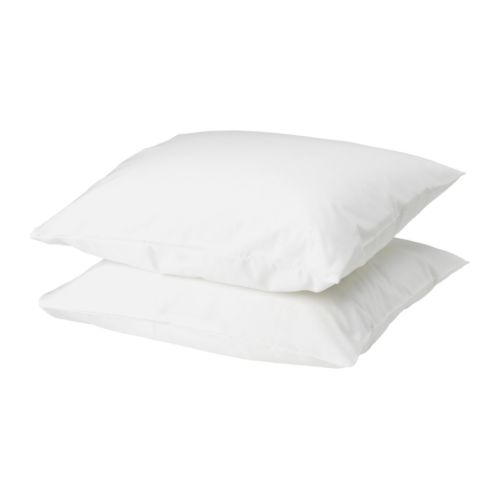 IKEA BACKNEJLIKA pillowcase Cotton, feels soft and nice against your skin.