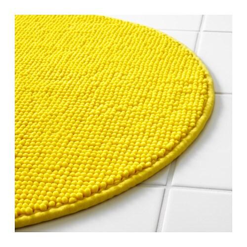 BADAREN Bath mat Yellow 55 cm - IKEA