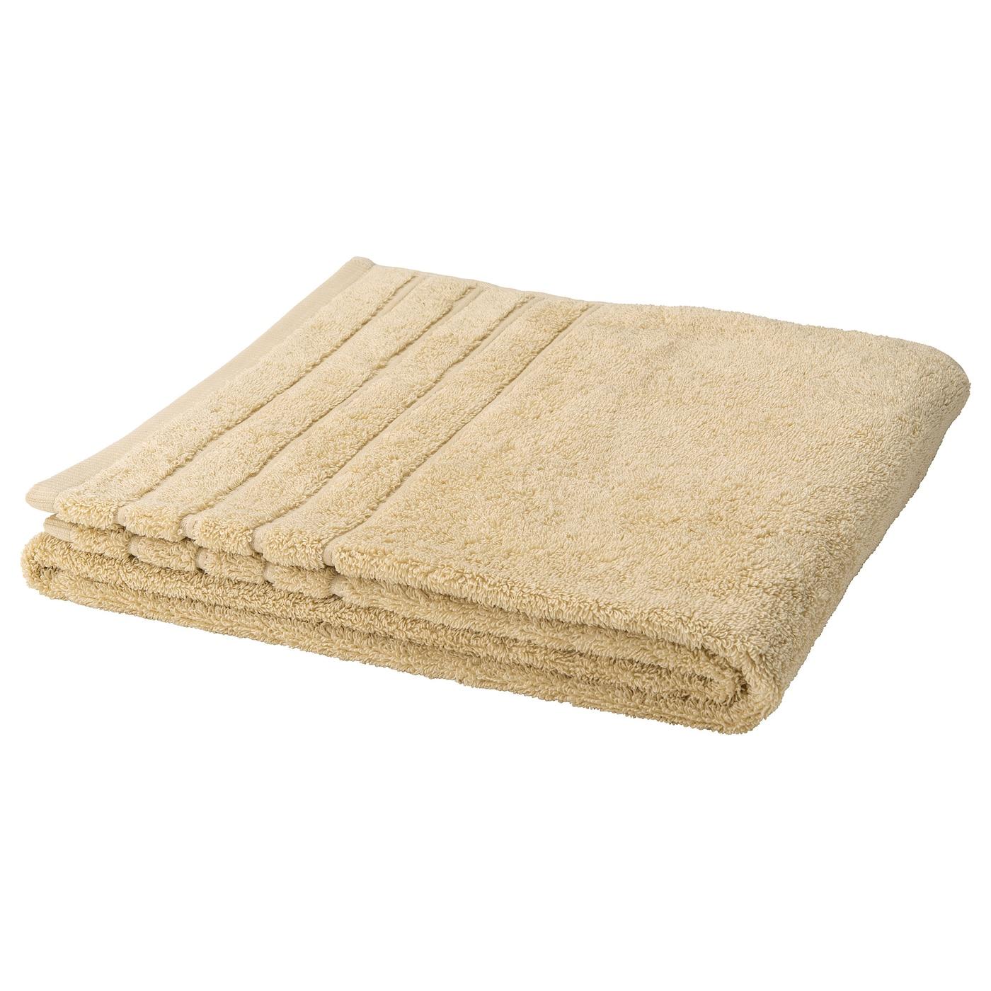 bakfoten bath towel beige 70x140 cm ikea. Black Bedroom Furniture Sets. Home Design Ideas