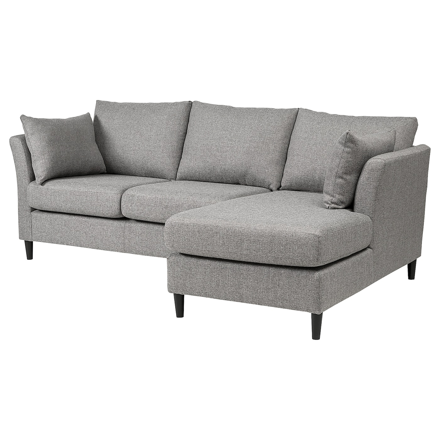 Bankeryd 2 seat sofa w chaise longue right grey ikea for 2 seat chaise sofa