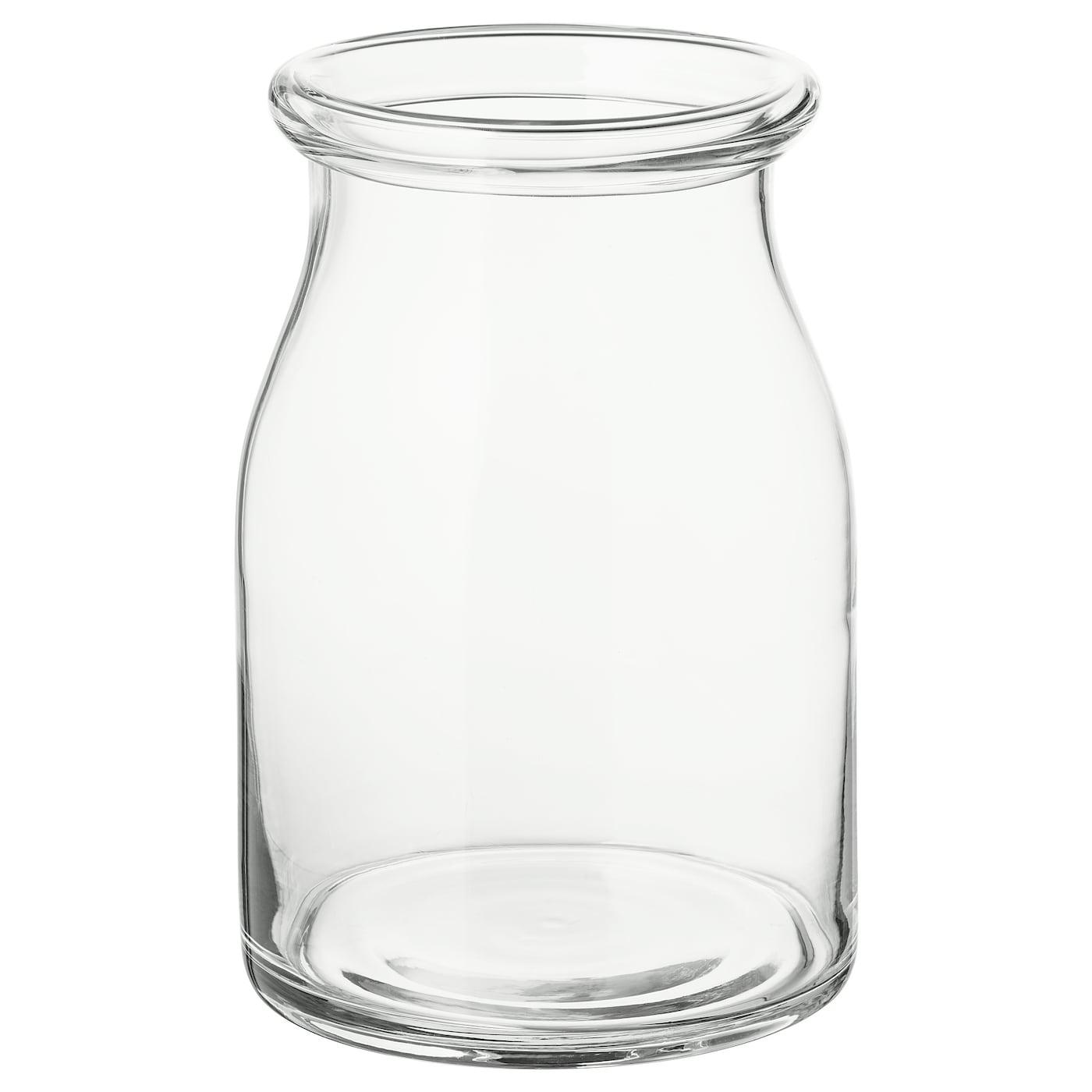 Beg 196 Rlig Vase Clear Glass Ikea