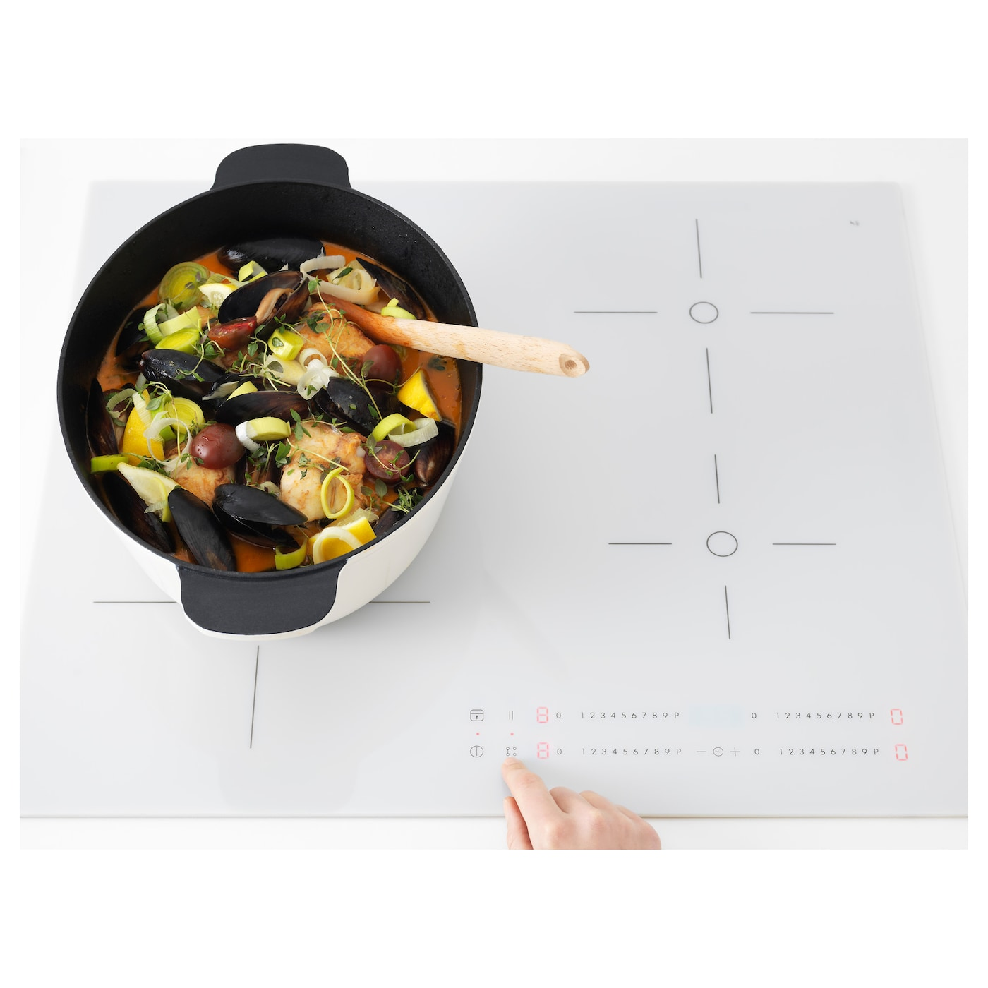IKEA BEJUBLAD induction hob with bridge function