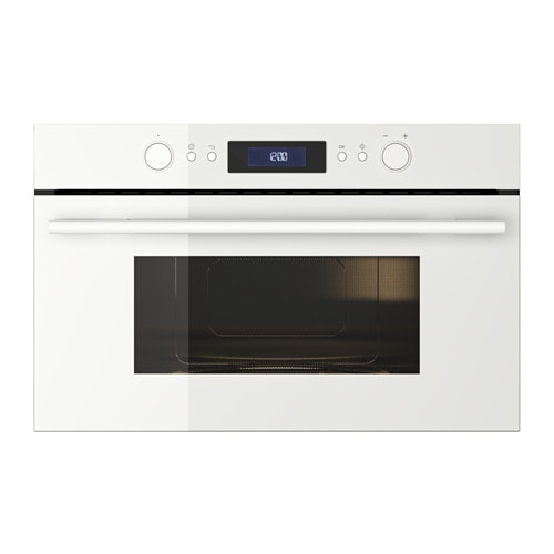 Bejublad microwave oven white ikea for Who makes ikea microwaves