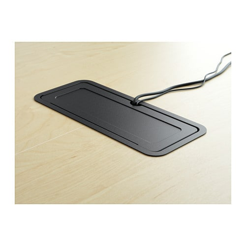Ikea Pax Schrank Spiegeltür ~ Conference table BEKANT Birch veneer black