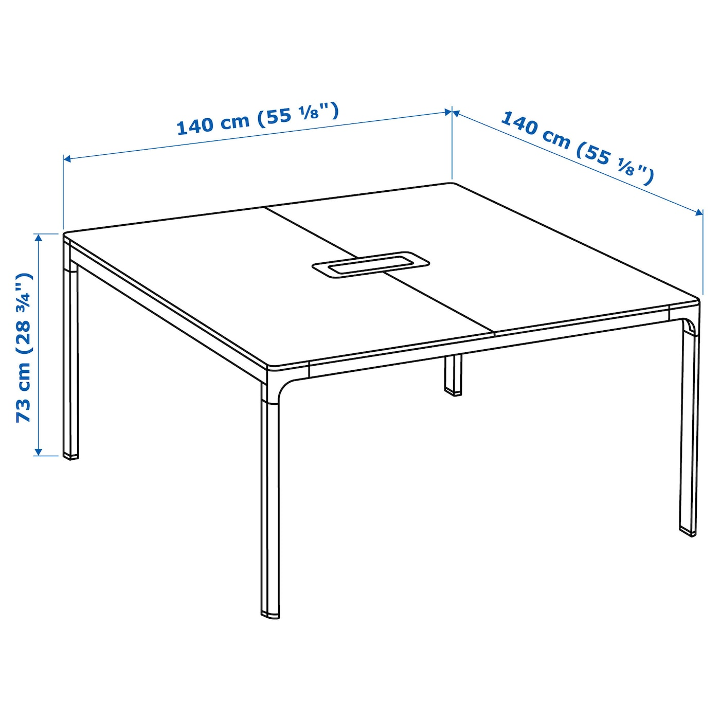 Ikea Bekant Conference Table 10 Year Guarantee Read About The Terms In Brochure