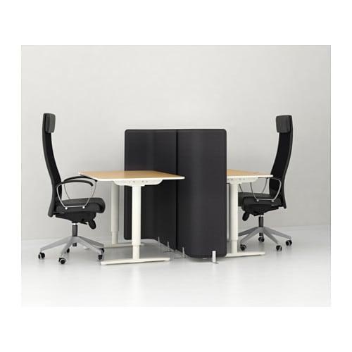 bekant desk sit stand birch veneer white 120x80 cm ikea. Black Bedroom Furniture Sets. Home Design Ideas