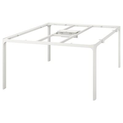 BEKANT Frame for table top, white, 140x140 cm