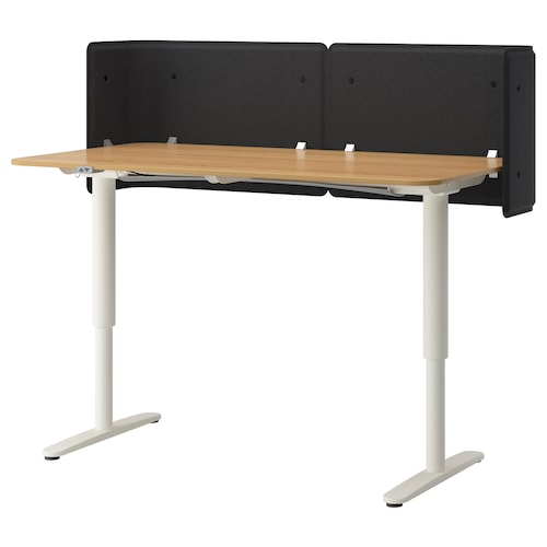 IKEA BEKANT Reception desk sit/stand