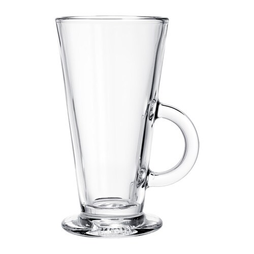 IKEA BEPRÖVAD glass Also suitable for hot drinks.