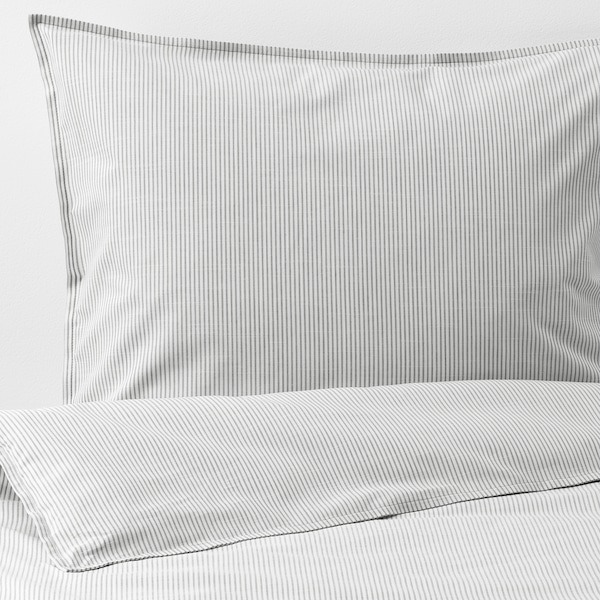 IKEA BERGPALM Quilt cover and 2 pillowcases