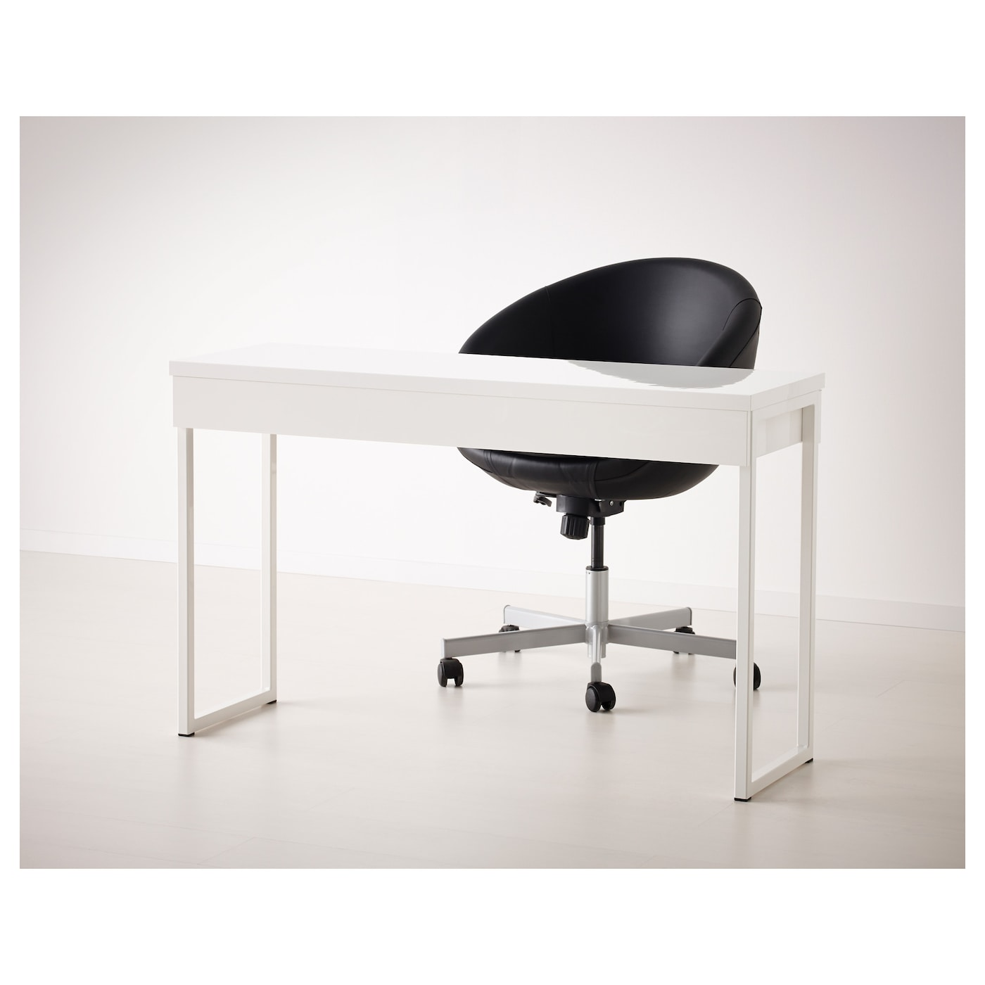 Besta Burs White Desk