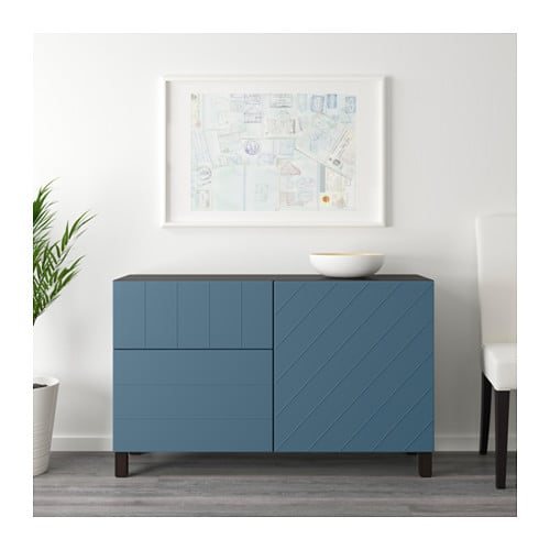 IKEA BESTÅ storage combination w doors/drawers