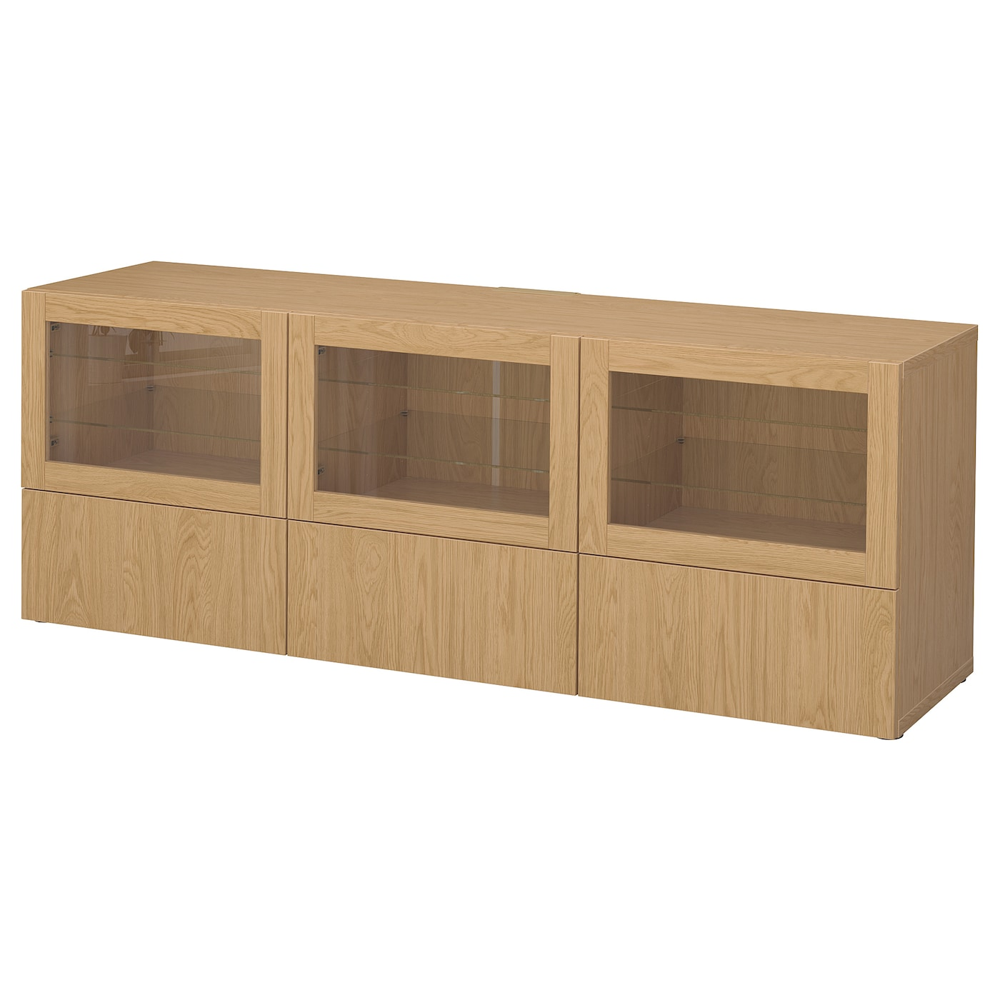 IKEA BESTÅ TV bench with doors and drawers