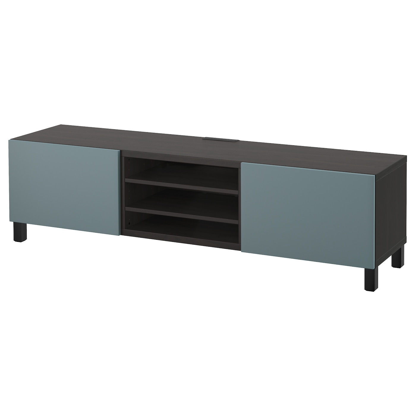 Best Tv Bench With Drawers Black Brown Valviken Grey Turquoise 180x40x48 Cm Ikea
