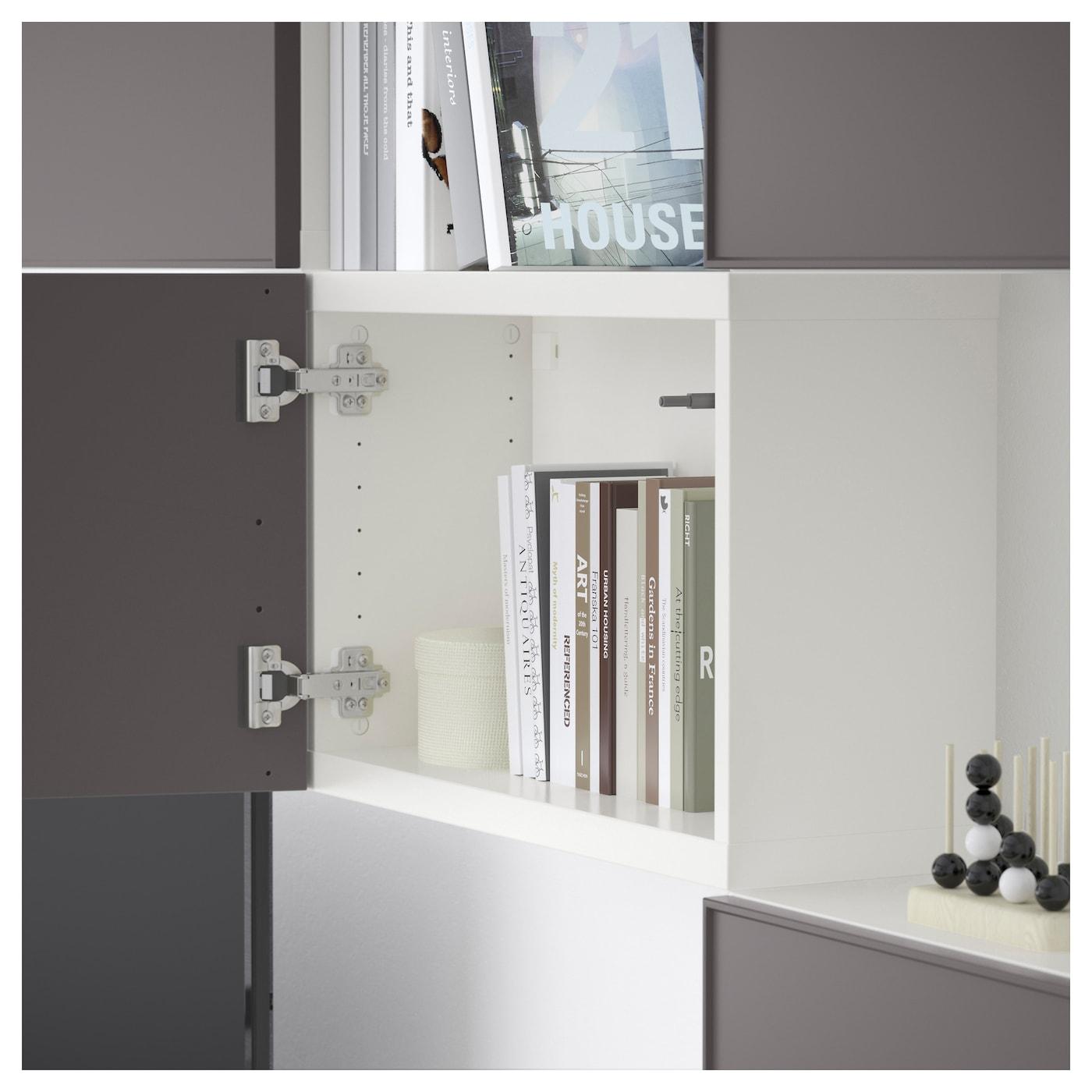 Best Tv Storage Combination White Grundsviken Dark Grey 240×20  # Meuble Tv Urban
