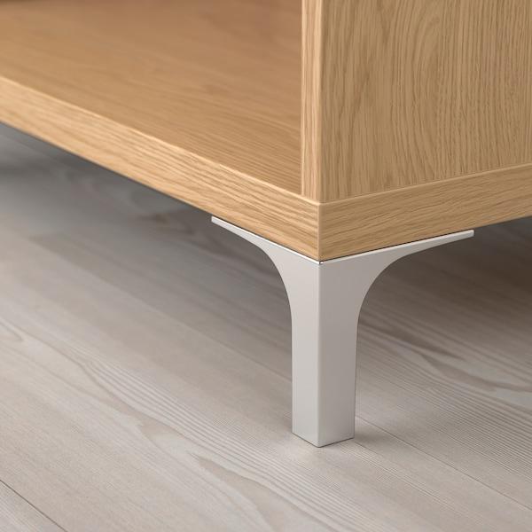 BESTÅ Cabinet unit, oak effect, 60x40x202 cm