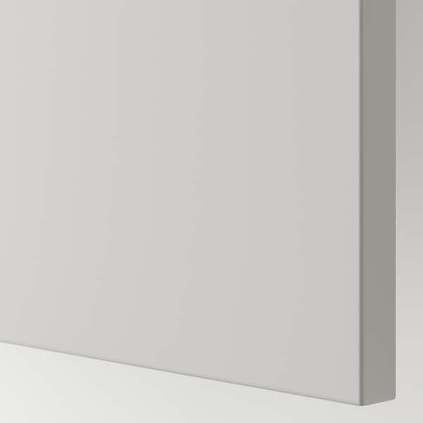BESTÅ Storage combination with drawers, white/Lappviken light grey, 180x42x65 cm