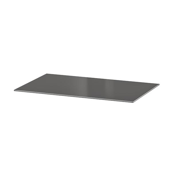 BESTÅ Top panel, glass dark grey, 60x40 cm