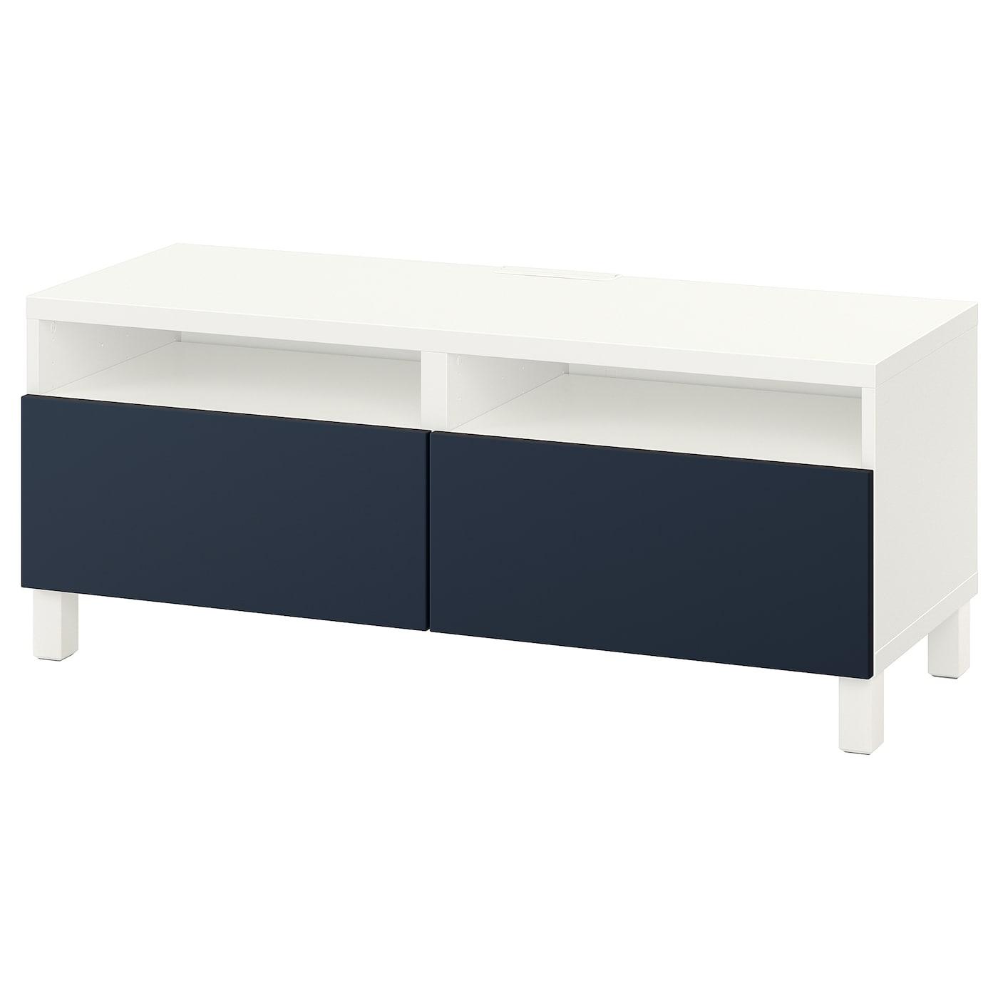 Best 197 Tv Bench With Drawers White Notviken Stubbarp