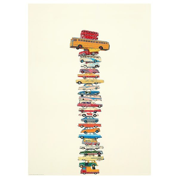 BILD Poster, Cars, 50x70 cm