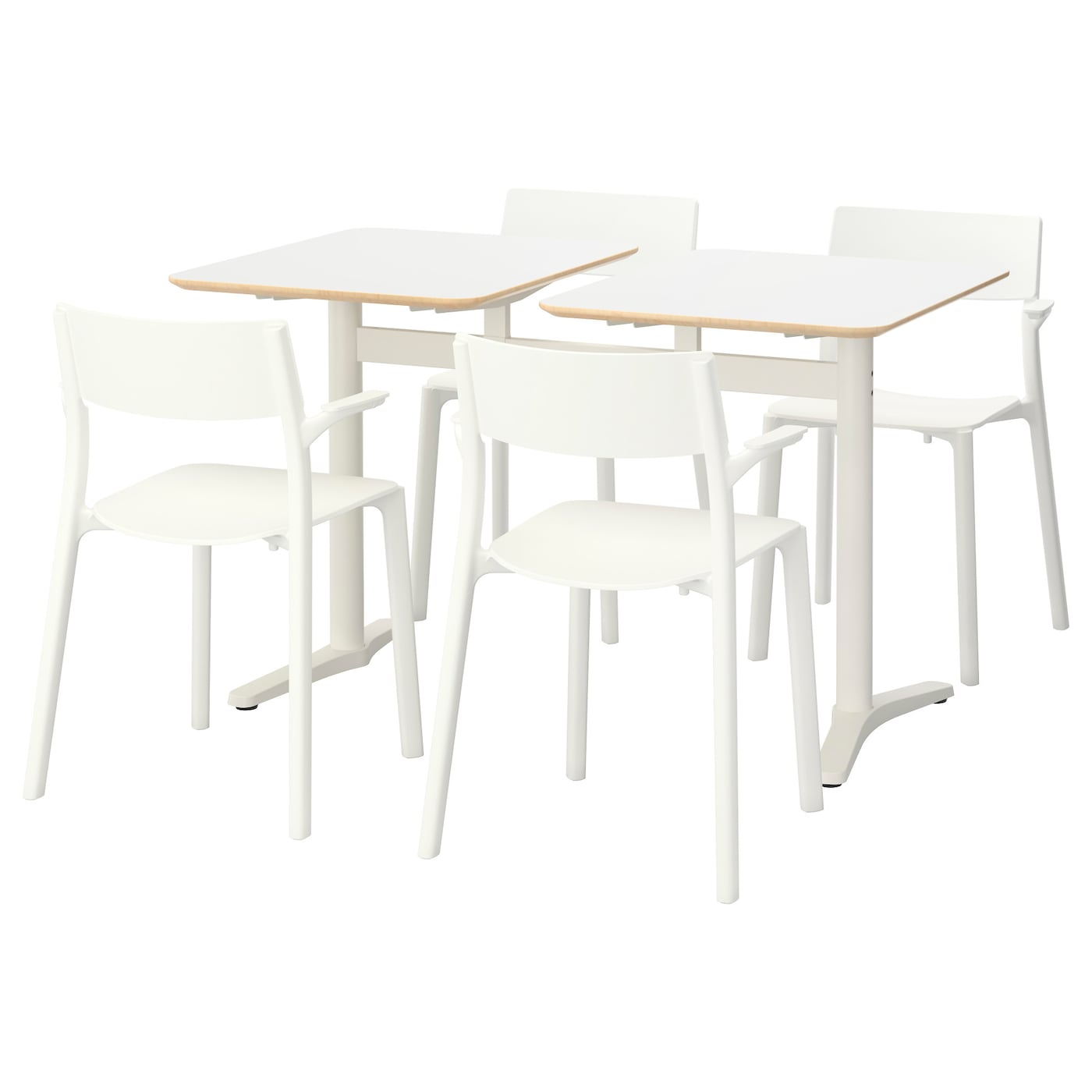 IKEA BILLSTA/JANINGE table and 4 chairs