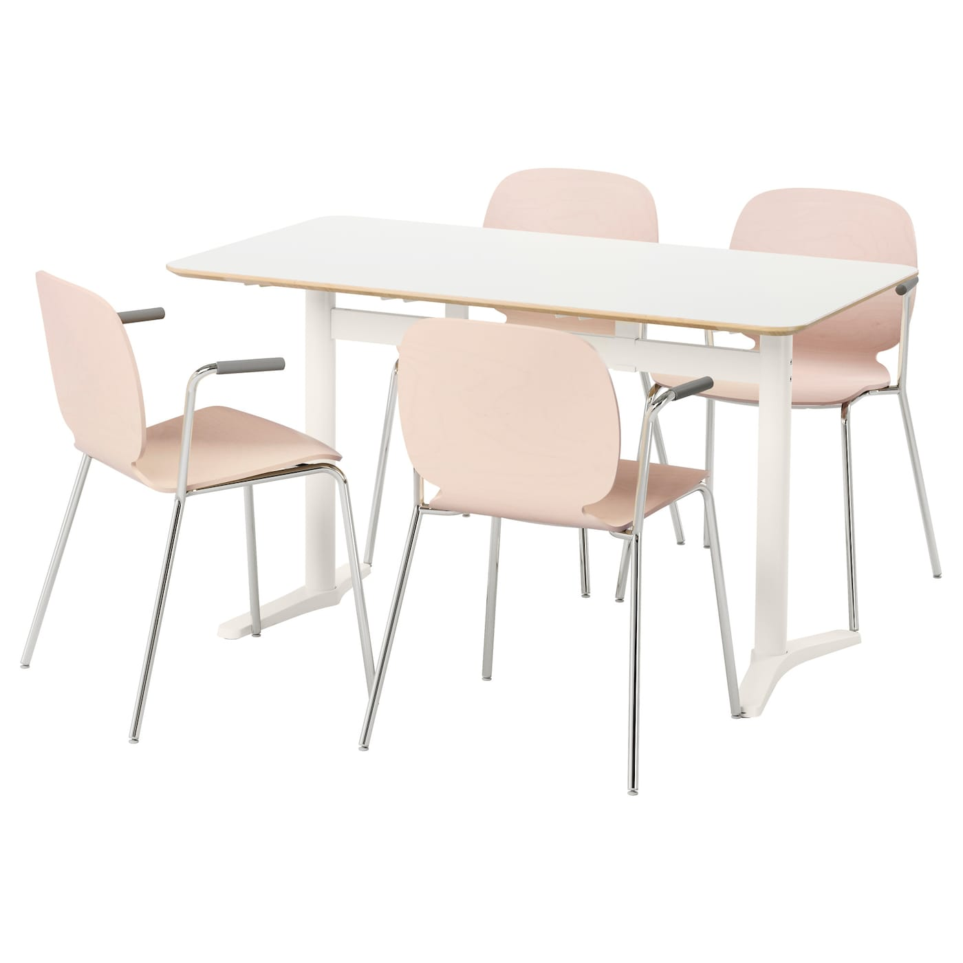 IKEA BILLSTA/SVENBERTIL table and 4 chairs