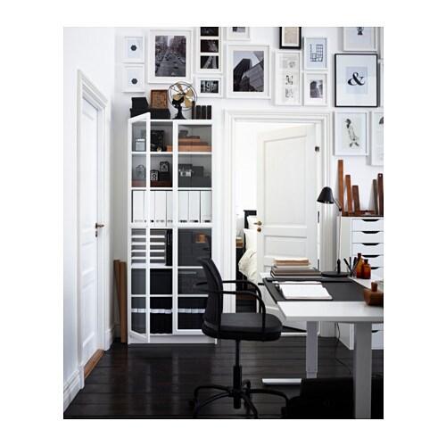 BILLY/OXBERG Bookcase White 80x202x28 Cm