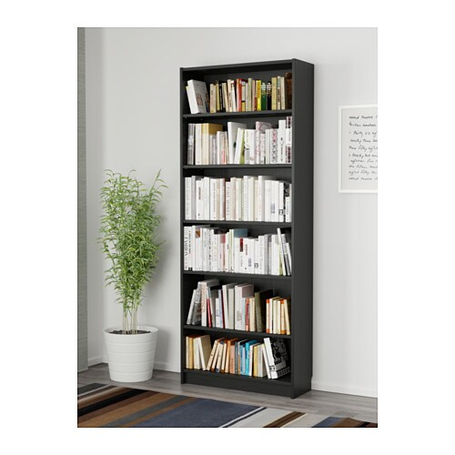 BILLY Bookcase Black-brown 80x28x202 Cm