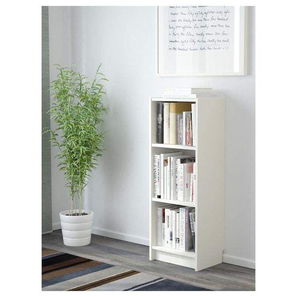 BILLY Bookcase, white, 40x28x106 cm