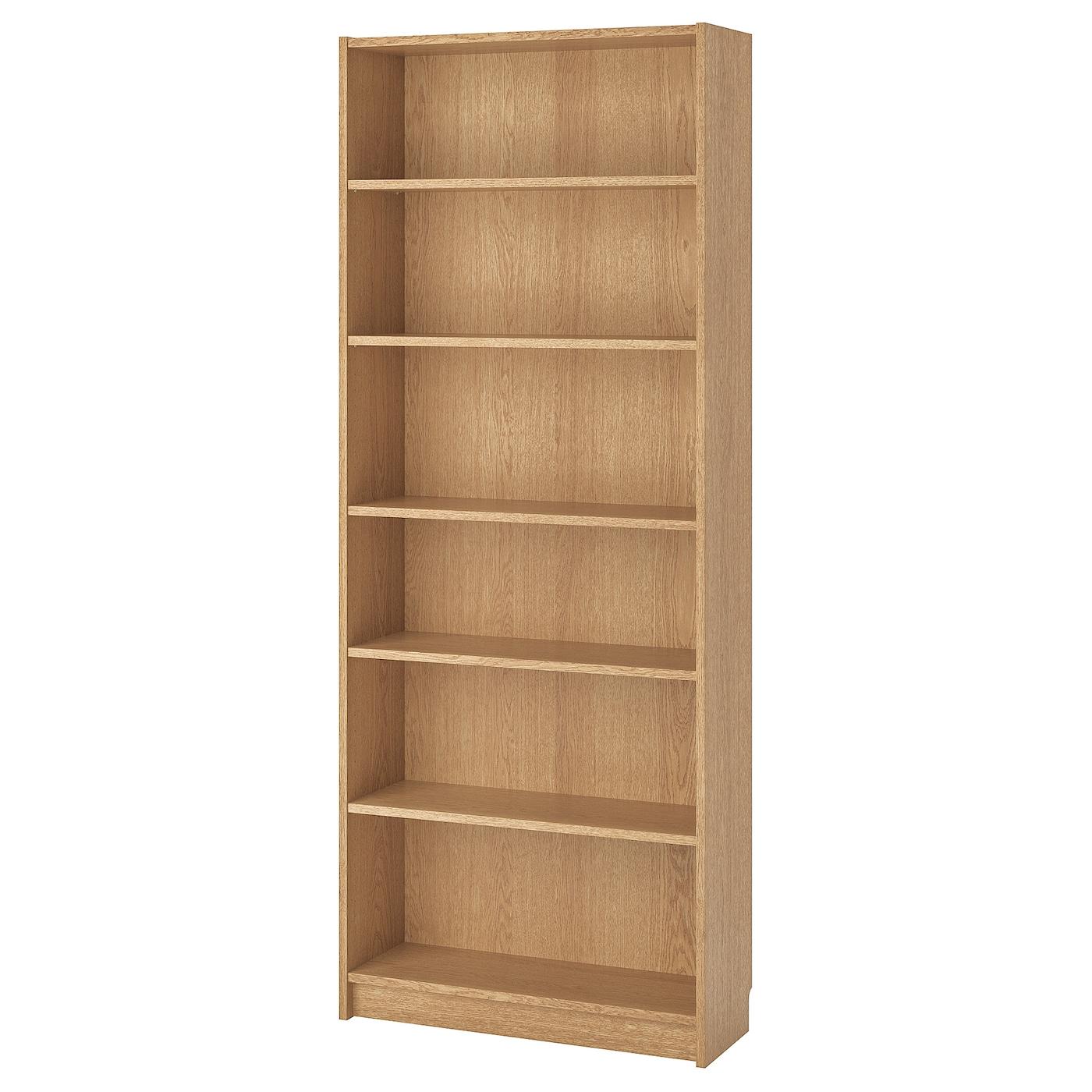 Bookcase Billy Oak Veneer