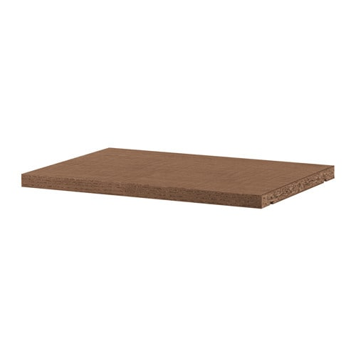 IKEA BILLY extra shelf Surface made from natural wood veneer.