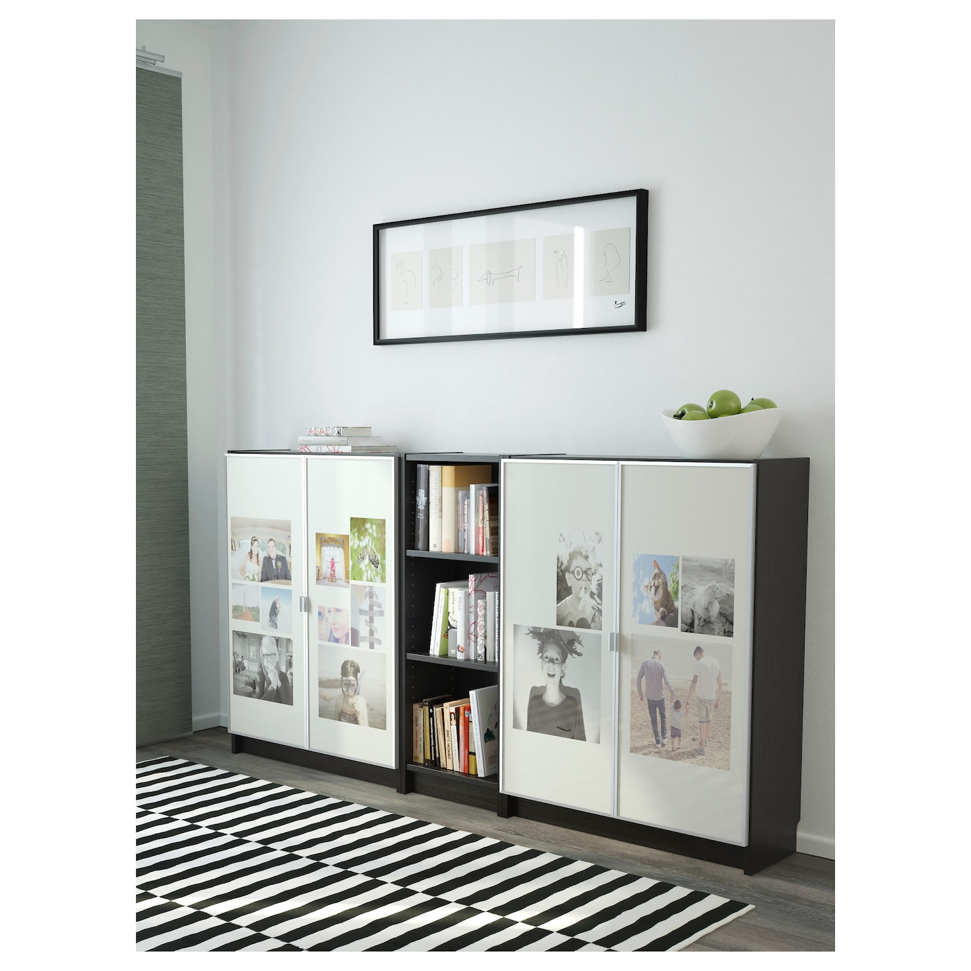 Ikea Billy Morliden Bookcase Surface Made From Natural Wood Veneer