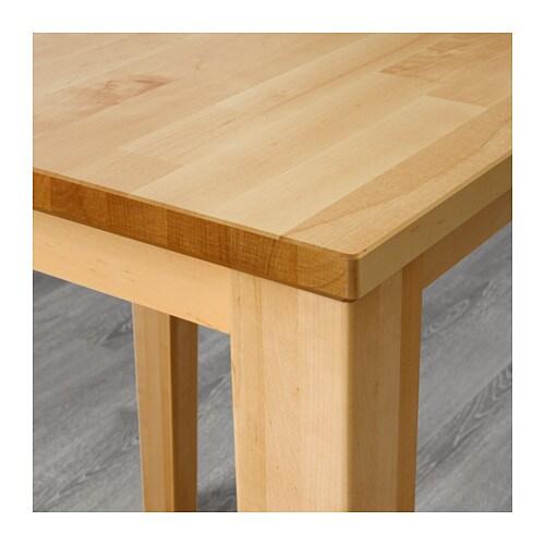 BJRKUDDEN Bar Table Birch 70x70 Cm IKEA
