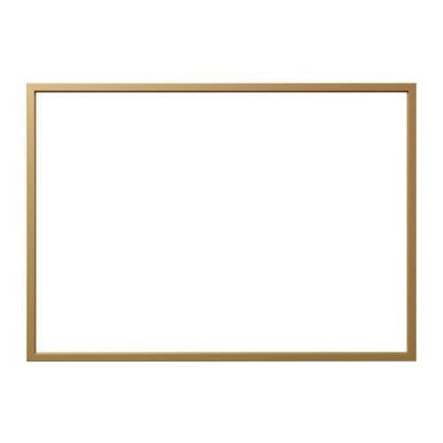BJÖRKSTA Frame Brass-colour 140 x 100 cm - IKEA