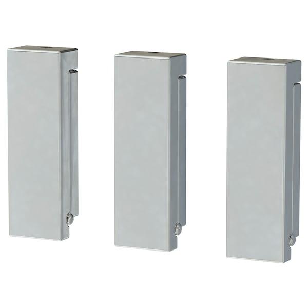 BJÄRNUM folding hook aluminium 3 cm 8 cm 8 cm 3 pack