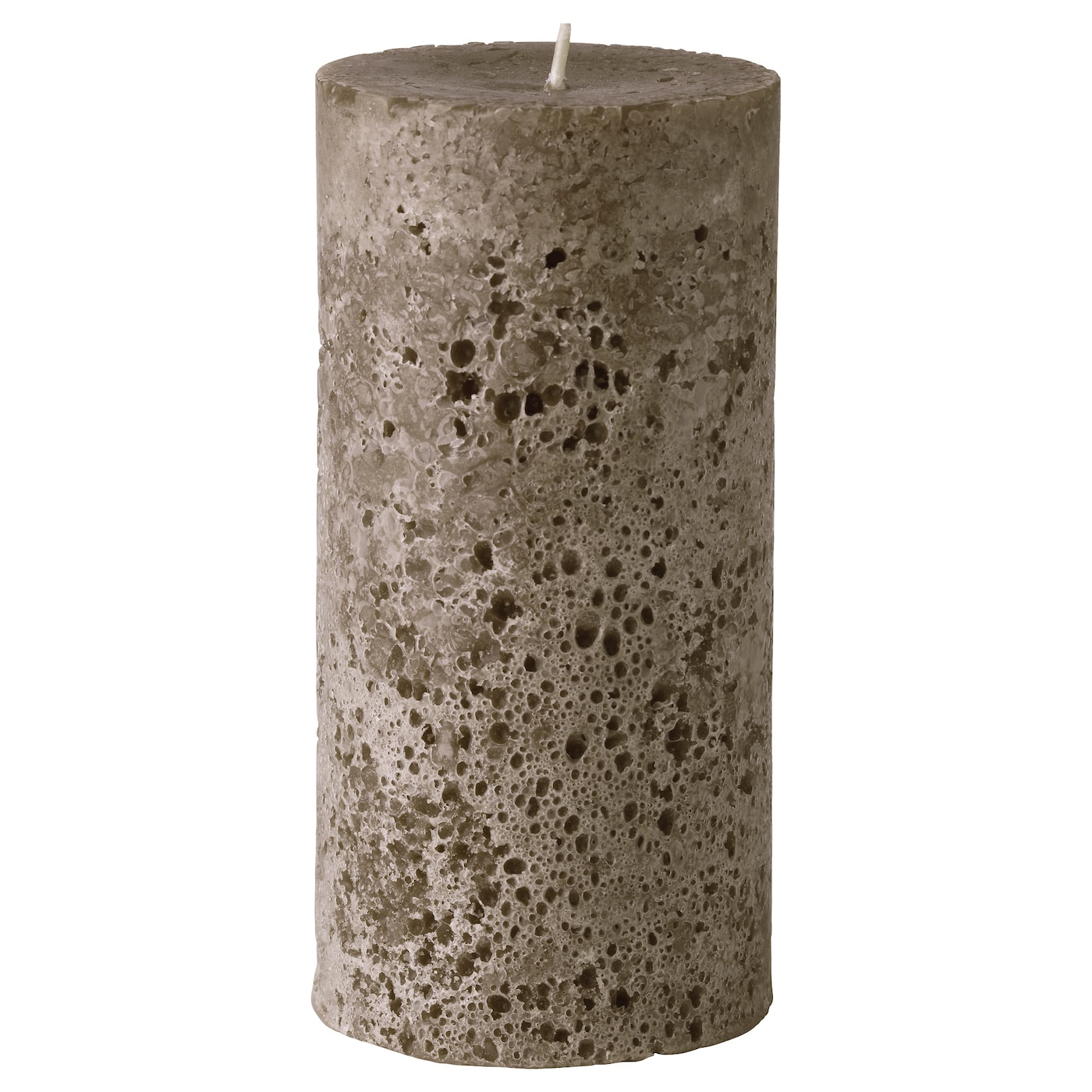 IKEA BJUDANDE unscented block candle