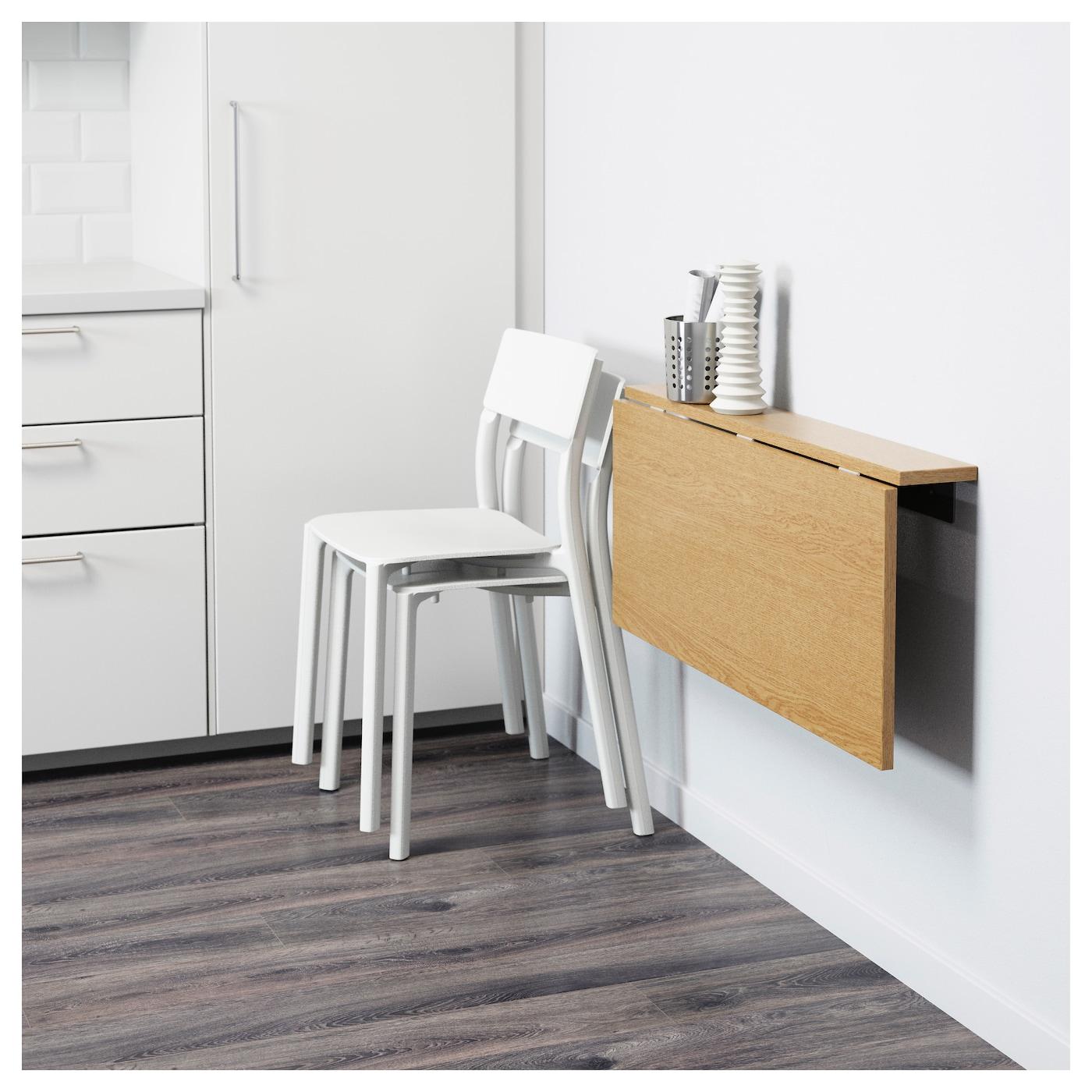 Bjursta Wallmounted Dropleaf Table Oak Veneer 90x50 Cm. Sliding Wire Basket Drawers. High Desk Chairs. Military Desk Jobs. Old Fashioned School Desk. Google Drive Desk. Cheap Desk Top. Ikea Micke Desk Instructions. L Shaped Table Desk