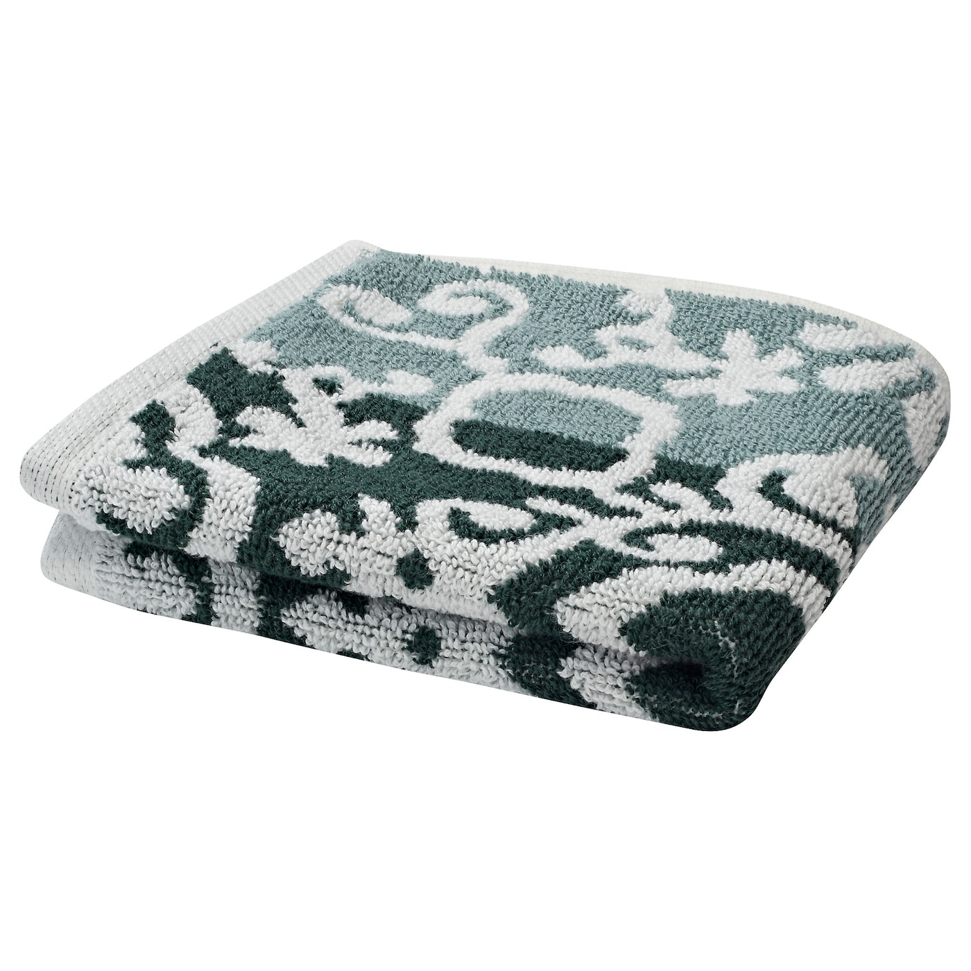 IKEA BLÄDJAN washcloth The long, fine fibres of combed cotton create a soft and durable towel.
