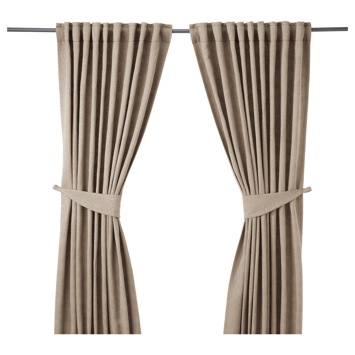 Drape Ties: IKEA Window Dressing